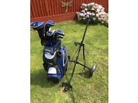 MacGregor Tourney 3G Golf Set with Trolley and additional Ping Wedge