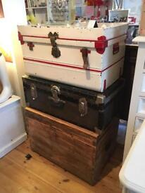 Vintage trunks and chests prices from