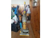 yellow Dyson DC04 All Floors Upright Hoover tools 1 week guarantee no texing phone only w