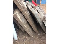 **FREE** x6 slabs, big and heavy would be ideal as hard core. Collection from Burbage