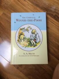The complete Winnie-the-Pooh hard back book
