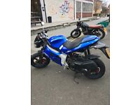 Gilera Dna 180cc TWIST AND GO scooter moped motorbike