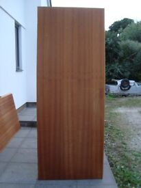 3 x internal sapele doors. Will sell separately for £10 each.