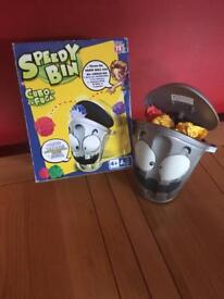 Kids toys - speedy bin game. Age 4+