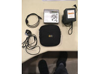 Sony MZ-R501 recording Mini Disk player with accessories and mini disks
