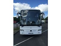 Mercedes 49 Seat Super Exec Coach for Hire