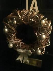 Hand Made Christmas Wreath