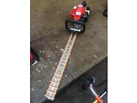 Mitox petrol hedge cutter as new condition