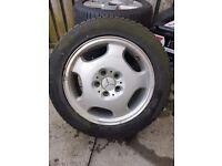 """Mercedes alloy wheel 16"""""""