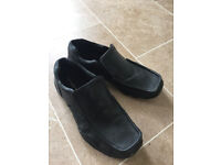 Black Slip On Mens Shoes