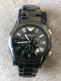 Emporia Armani ceramica men's watch