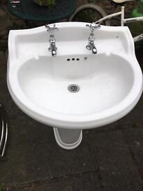 Sink Basin Victorian Style