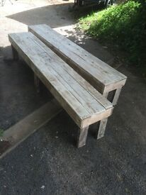 Reclaimed Wood Benches - Various Sizes
