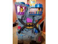 Imaginext Batcave plus Batmobile and figures.