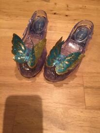 Light up Cinderella shoes