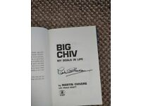 Signed Martin Chivers Autobiography