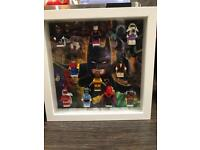 Lego Batman Display case (not including figures)