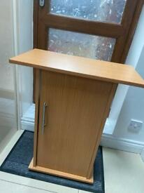 Fish tank stand cabinet