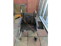 ALMOST NEW WHEELCHAIR - EXCEL G Lite PRO - ideal for slim or large person UPTO 30kg