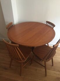 Nathan Dining Room Table with 4 Chairs