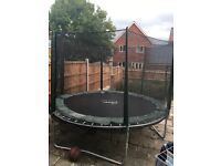 12 foot Trampoline, safety net inc. Hardly used, Great Quality!