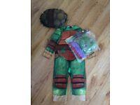 Teenage Mutant Turtle Costume 3/4 yrs