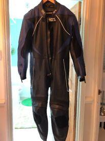 Men's size medium all in one leathers new, unworn