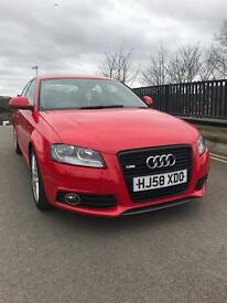 Audi A3 S Line Remapped 190 BHP Sunroof