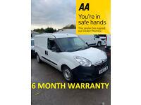 Vauxhall, COMBO, Panel Van, 2013, Manual, 1248 (cc)***6 MONTH WARRANTY***