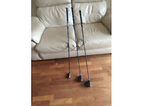 Set of John Letters Golf Clubs