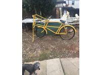 Vintage message bike