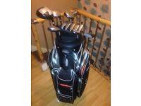 Bayhill Golf Set, Bag & Trolley
