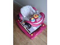 Mothercare car walker/rocker