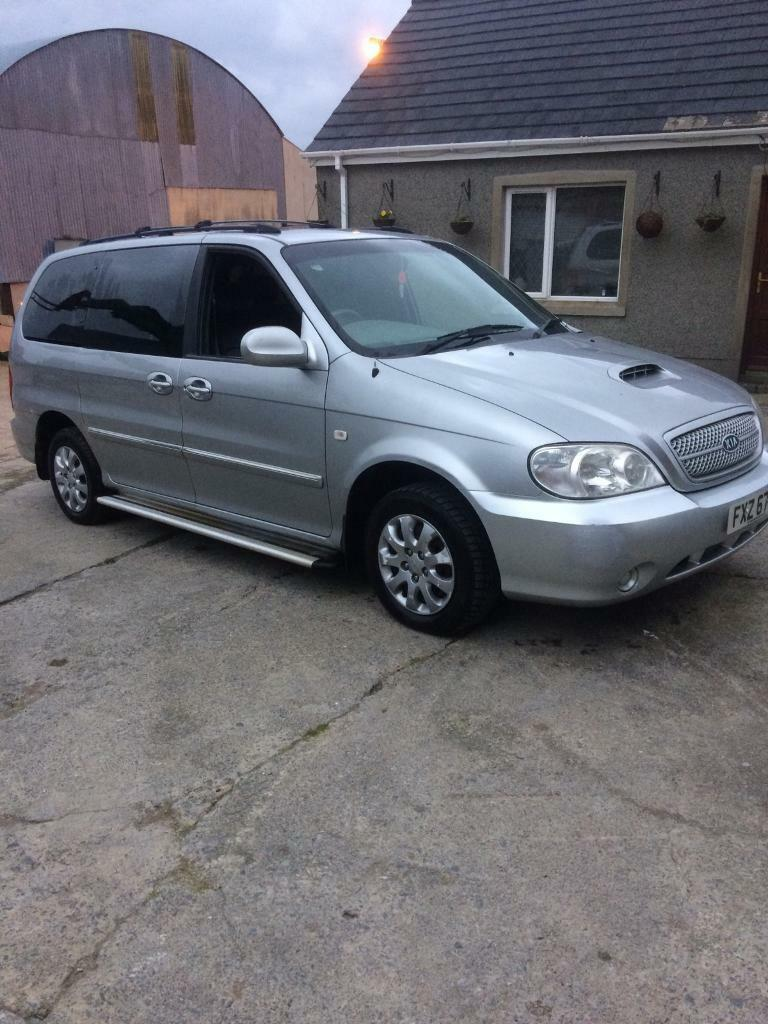 kia sedona 2005 7 seater full mot automatic in saintfield county down gumtree. Black Bedroom Furniture Sets. Home Design Ideas