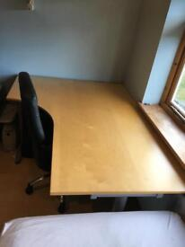 Ikea L-shaped desk