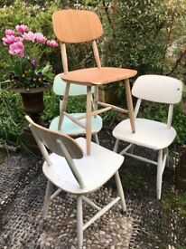 Vintage Chairs x 4