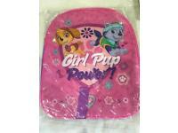 Paw Patrol Girls School Backpack *NEW*