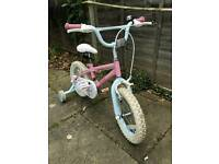 Cute 14 inch Fairies girls bike