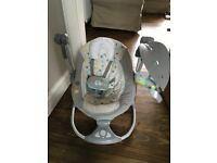 Ingenuity baby rocker / swing / seat with music, timer and vibrations