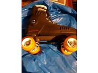 Raptor Roller Skate Quads feature a two piece