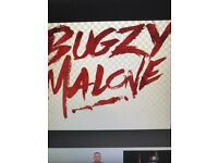 BUGZY MALONE APPOLO 16TH NOV STANDING