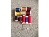 Free small selection of sewing reels