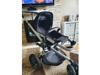 Quinny Buzz Xtra Pram / Stroller, Carrycot and Accessories, barely used - like new
