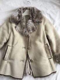 Next girl coat size 5-6 year