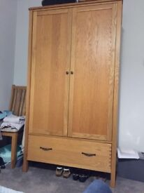 Good quality wooden wardrobe. £40 ONO