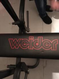 Weider bench