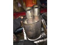 Honda Civic 1.6 standard exhaust back box