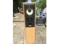 Floor standing speakers.