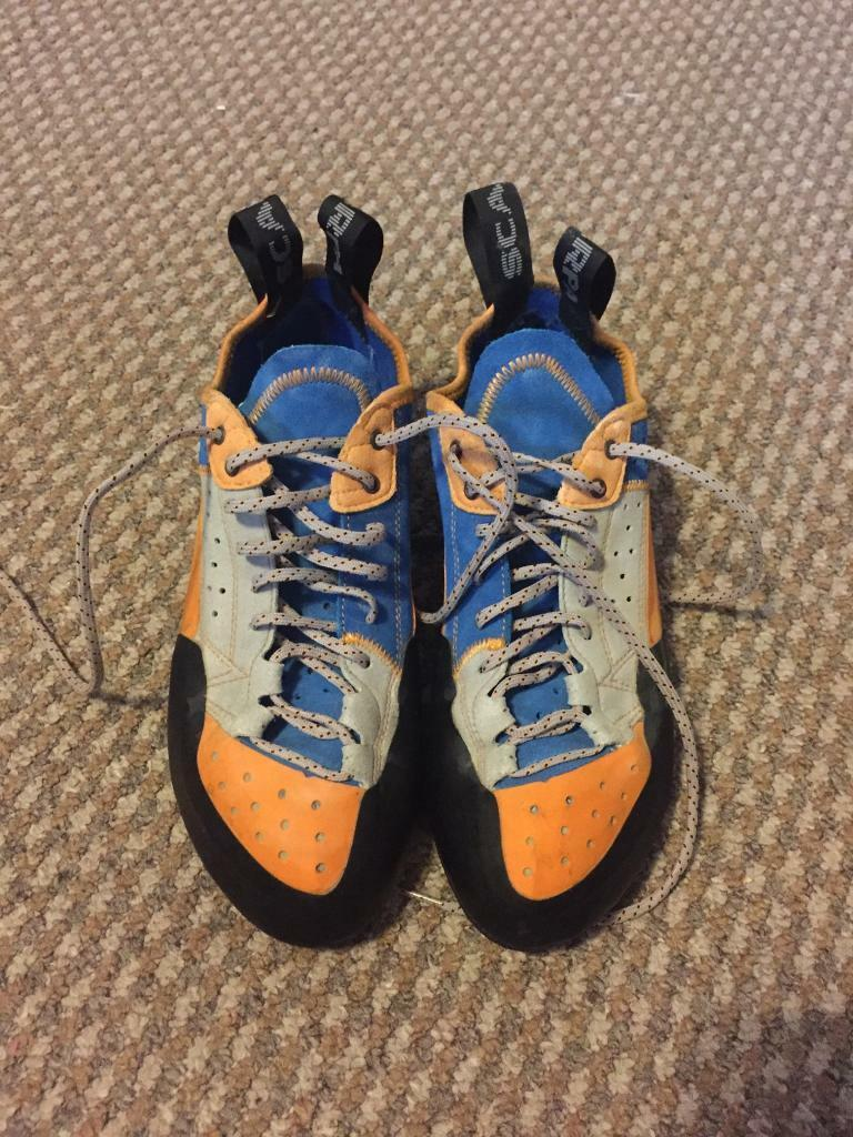 Scarpa Techno X (size uk10 EU45) rock climbing shoe £95 new