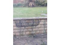 2x Iron flower hangers £40